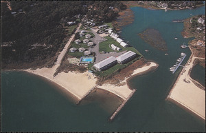 Aerial view of Green Harbor, Baxter Ave., West Yarmouth, Mass.