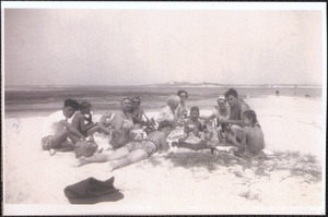 Family group at Gray's Beach