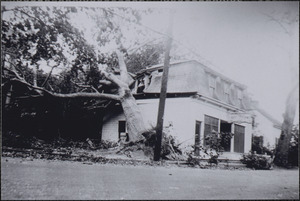 1944 Hurricane damage