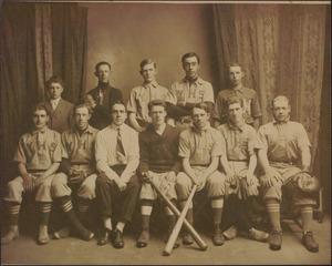 Yarmouth High School Baseball Team 1914-1915