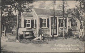 Blackwell's Camps, Route 28, South Yarmouth, Cape Cod., Mass.