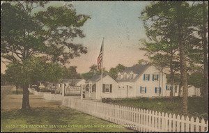 The Patches, Sea View Ave., Bass River, Cape Cod, Mass.
