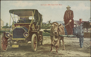 1910 and 1850, Cape Cod, Mass.