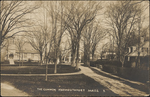 The common, Yarmouth Port, Mass.
