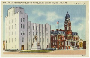 City Hall and New England Telephone and Telegraph Company Building, Lynn, Mass.