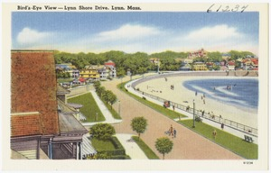Bird's-eye view -- Lynn Shore Drive, Lynn, Mass.