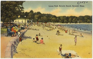 Lyons Park, Beverly Beach, Beverly, Mass.