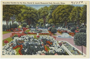 Beautiful garden by the sea, David S. Lynch Memorial Park, Beverly, Mass.