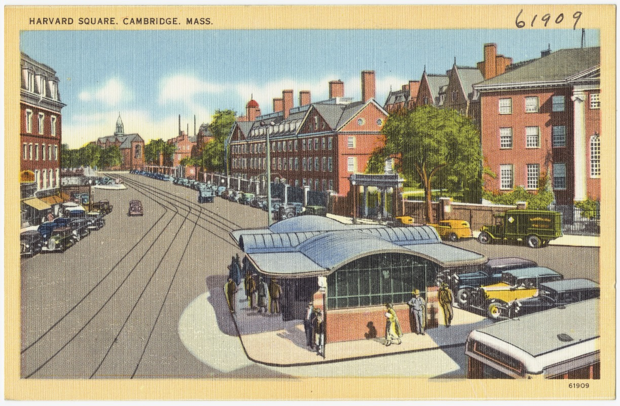 Harvard Square, Cambridge, Mass.