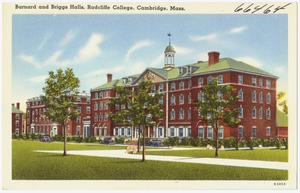 Barnard and Briggs Halls, Radcliffe College, Cambridge, Mass.