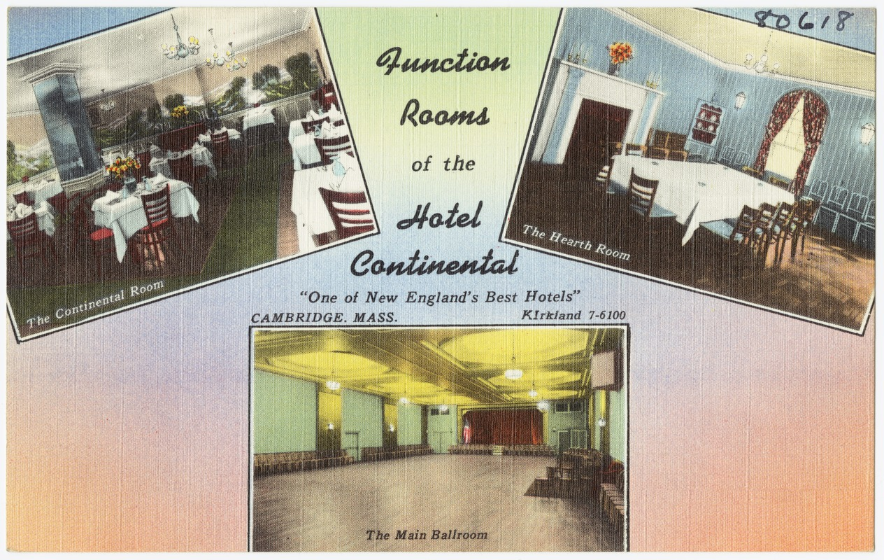 Function Rooms of the Hotel Continental