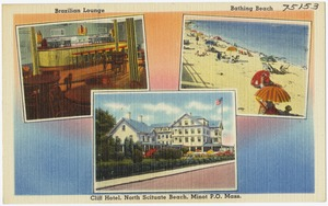 Cliff Hotel, North Scituate Beach, Minot P. O., Mass.