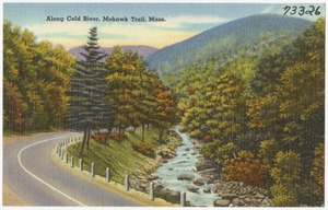 Along Cold River, Mohawk Trail, Mass.