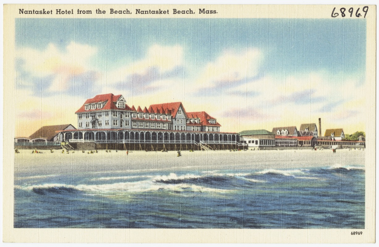 Nantasket Hotel From The Beach M
