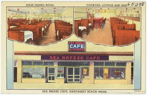 Sea Breeze Cafe, Nantasket Beach, Mass.
