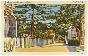Academy Lane, Nantucket, Mass.