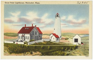 Great Point Lighthouse, Nantucket, Mass.