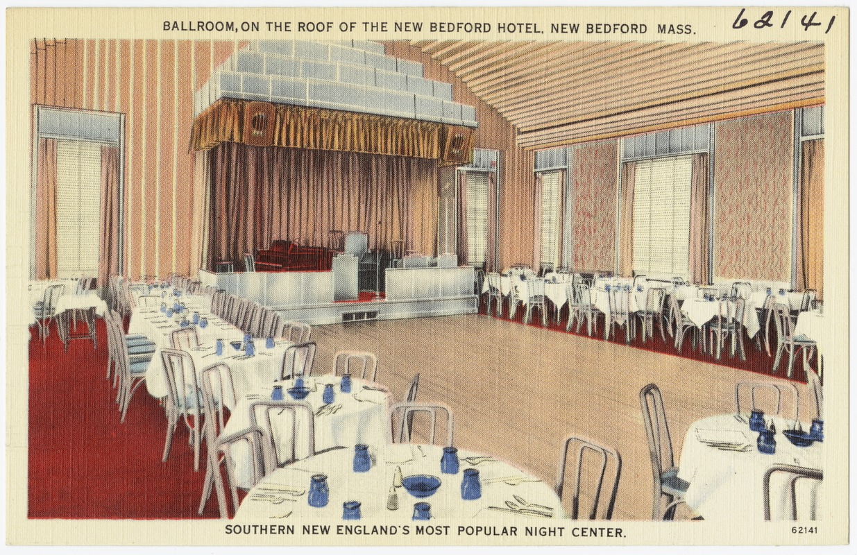 Ballroom On The Roof Of New Bedford Hotel M Southern England S Most Por Night Center