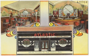 Atlantic Restaurant and Cocktail Lounge, 918-922 Purchase St., New Bedford, Mass.