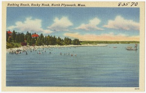 Bathing beach, Rocky Nook, North Plymouth, Mass.