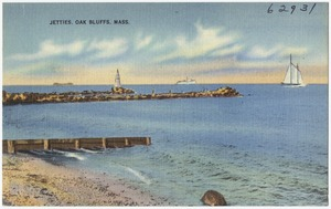 Jetties, Oak Bluffs, Mass.