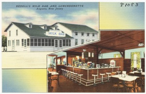 Bedell's Milk Bar and Luncheonette, Augusta, New Jersey