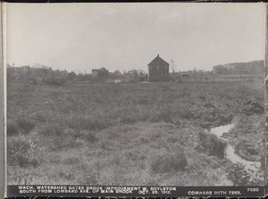 Wachusett Department, Wachusett Watershed, Gates Brook Improvement, south from Lombard Avenue up main brook (compare with No. 7253), West Boylston, Mass., Oct. 26, 1916
