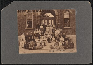 1899 graduates of the Parker Street Grammar school, New Bedford, MA