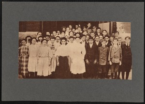 1908 graduates of the Robert C. Ingraham School, New Bedford, MA