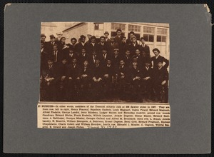 37 Huskies - members of the Tremont Athletic Club, New Bedford, MA