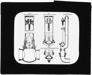 Distribution Department, Lowry Hydrant and Boston Hydrant, engineering plan, Mass., ca. 1880-1889
