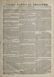 Niles' National Register, March 16, 1839
