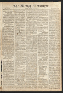 The Weekly Messenger, May 19, 1815