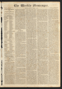 Weekly Messenger, April 7, 1815