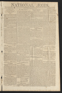 National Aegis, September 22, 1813