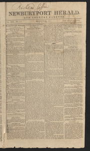Newburyport Herald and Country Gazette, May 7, 1813