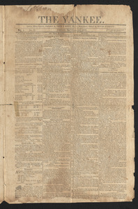 The Yankee, September 11, 1812