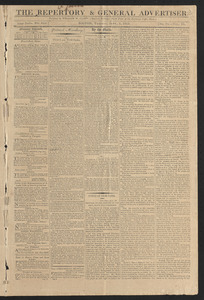 The Reportory & General Advertiser, September 1, 1812