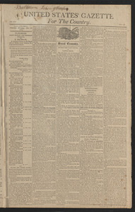 United States' Gazette for the Country, December 19, 1811