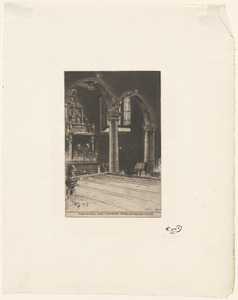 The chapel and founder's tomb, Charterhouse