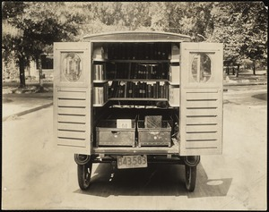 Newton Free Library Branches and Bookmobile, 1920-1981