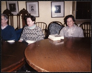 Newton Free Library, Newton, MA. Programs, patrons, staff. Short story discussion group