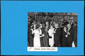Newton Free Library, Newton, MA. Programs, patrons, staff. 1st Bookworm Ball