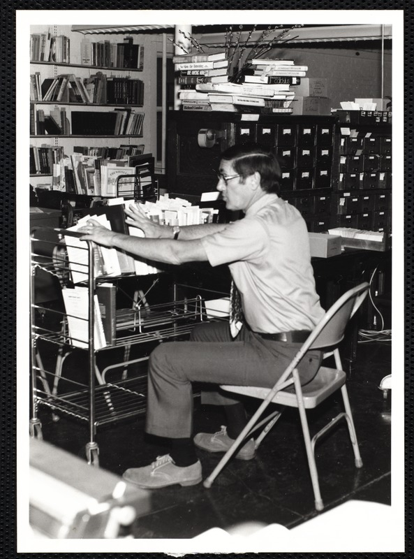 Main library, Junior Library, and branches. Newton, MA. Assistant Director John Daly