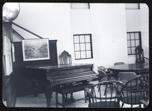 Main library, Junior Library, and branches. Newton, MA. All-purpose room