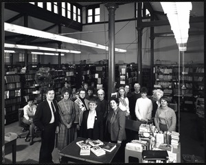 Newton Free Library Staff and Trustees, 1970-2005
