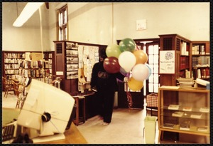 Newton Free Library, Newton, MA. Staff & trustees. Auburndale - balloons