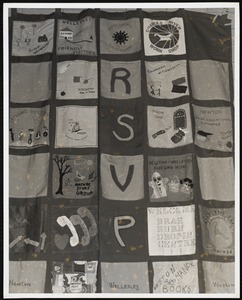 Protests & parades. Newton, MA. Quilt, RSVP