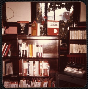 Newton Free Library, Newton, MA. Programs. Chaffin Hall '75