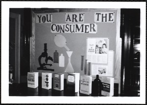 Newton Free Library, Newton, MA. Programs. Consumer display